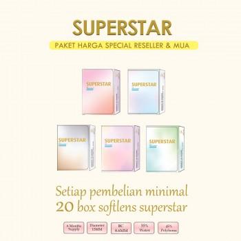 Superstar Softlens Warna Premium (Harga Reseller & Paket Khusus Mua)