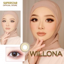 Superstar Willona Softlens Warna Premium