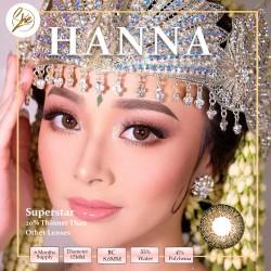 Superstar Hanna Softlens Warna Premium
