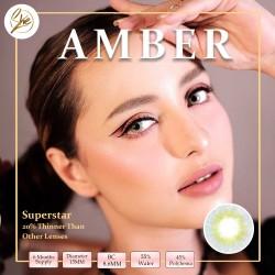 Superstar Amber Softlens Warna Premium