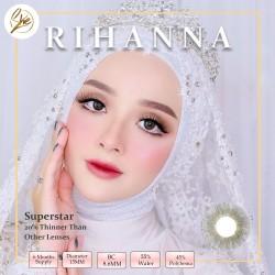 Superstar Rihanna Softlens Warna Premium