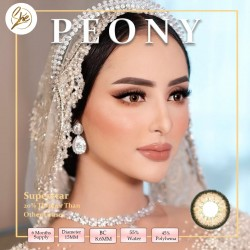 Superstar Peony Softlens Warna Premium